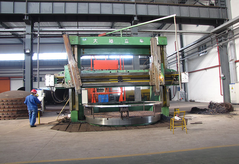 Tour vertical CNC